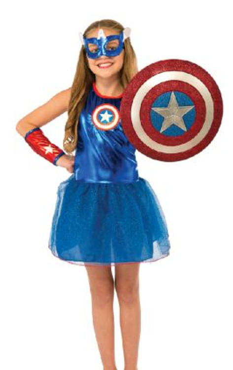Captain America Glitter Shield 12""