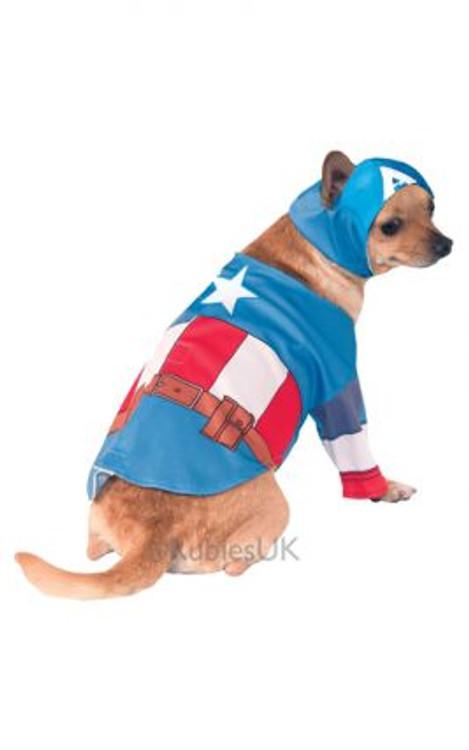 Captain America Pet Costume