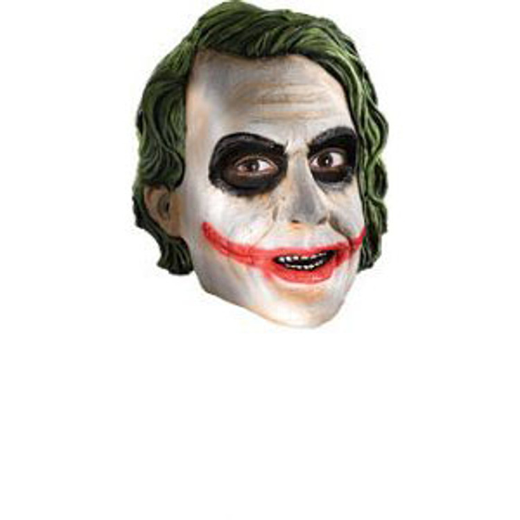 Batman - Joker 3 4 Vinyl Mask - Mens