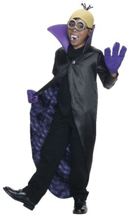 Despicable Me- Minion Dracula Child Costume