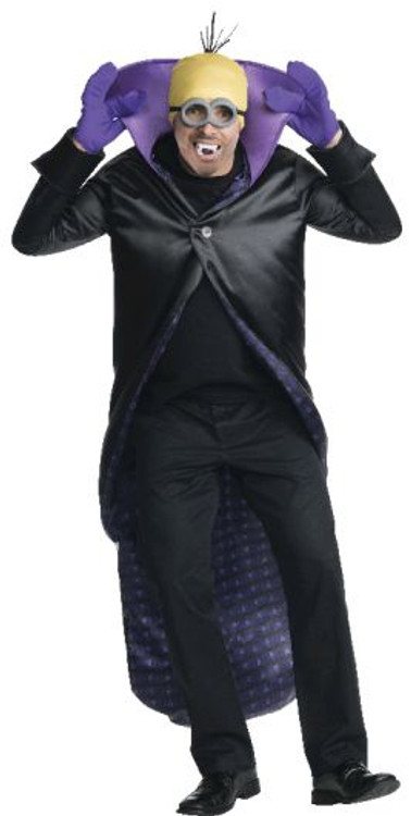 Despicable Me- Minion Dracula Adult Costume