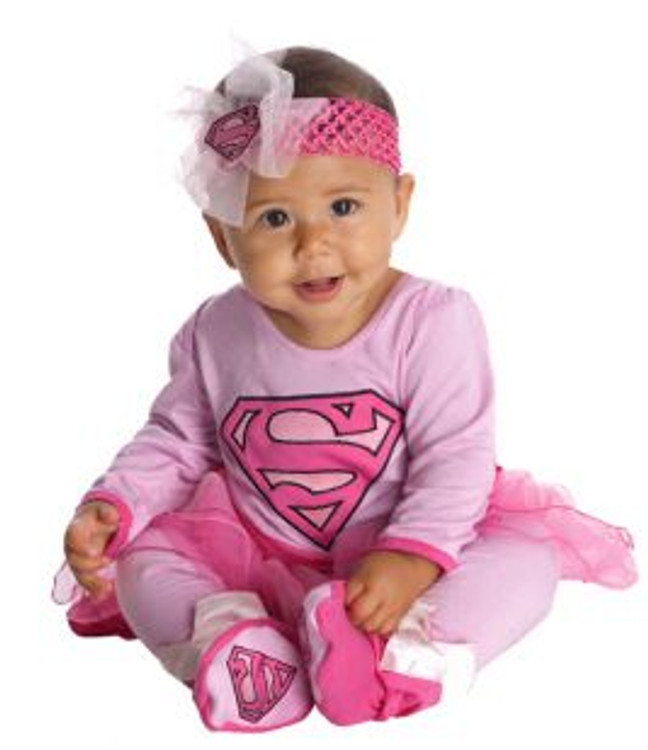 Supergirl Baby Onesie Costume