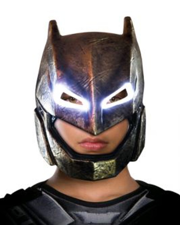Batman Light up Armoured Adult Mask