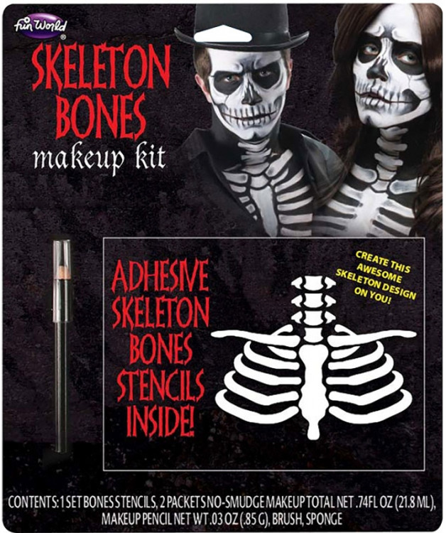 Bones Make Up Kit - Skeleton Bones