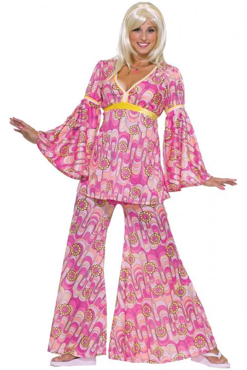 1960's Flower Power Women's Hippie Costume