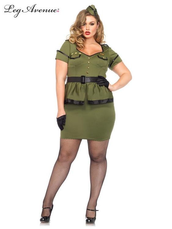 Army Commander Cutie Woman's Costume