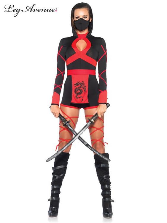 Dragon Ninja Womens Costume