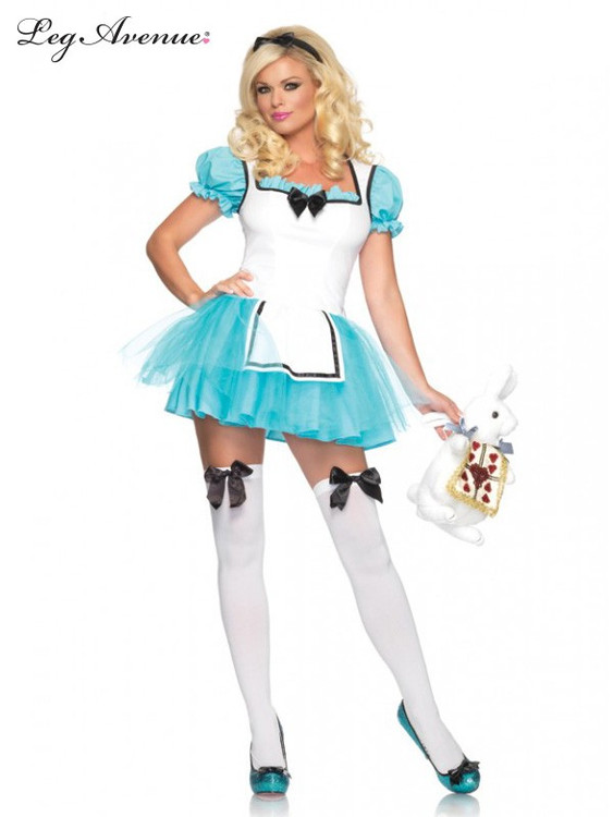 Alice in Wonderland Enchanted Alice Womens Costume