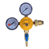 Primary Beer Regulator - Nitrogen - Double Gauge High Pressure - R1202H