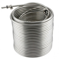 "100 FT Stainless Steel Draft Beer Coil - 5/16"" O.D. - JBC100"