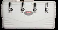 Beer Jockey Box Coil Cooler - 100 Quart Marine Grade - Four 100' Coils - JBA100M-100-4