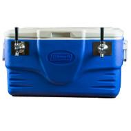 Beer Jockey Box Coil Cooler - Blue - Two 100' Coils - JBA50-100-2