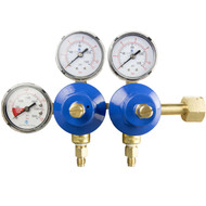 Double Gauge Soda Regulator - Primary Co2 High Volume - R1322