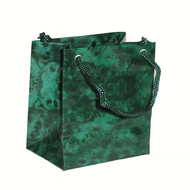 Green Marble Drawstring Bag