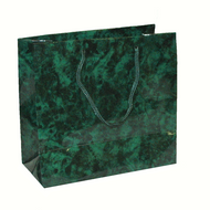 Green Marble Drawstring Bag 1