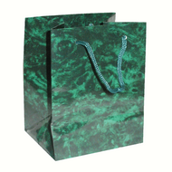 Green Marble Drawstring Bag 2