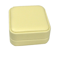 Soft Yellow Leatherette Small Easel Pendant Charm 1