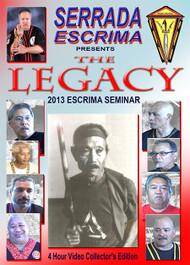 SERRADA ESCRIMA LEGACY-1 Seminar (2013) Stockton CA -  by GM Darren Tibon