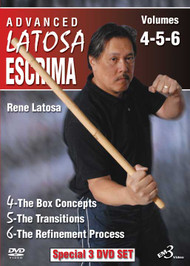 ADVANCED LATOSA ESCRIMA (4 DVD SET)  Vols. 4–5–6 By GM Rene Latosa