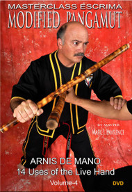 MODIFIED PANGAMUT ESCRIMA (Vol-4) Arnis De Mano - 14 Uses of the Live Hand By Master Marc J. Lawrence