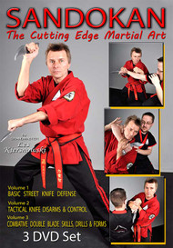 SANDOKAN (Vol-1, 2 & 3) The Cutting Edge Martial Art by Grandmaster Les Kiersnowski