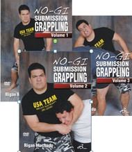 NO-GI SUBMISSION GRAPPLING Vols. 1–2–3 By Rigan Machado