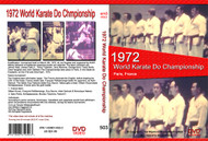 1972 World Karate Do  Championship Paris, France