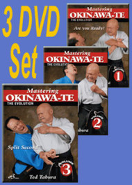 OKINAWA-TE By Ted Tabura (All 3 DVD's Vol-1,2 & 3)