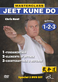 JEET KUNE DO - DVD Set Vols.1-2-3 - By Chris Kent