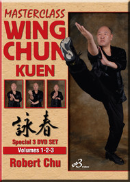 WING CHUN KUEN   VOL. 1-2-3 Set - by Robert Chu