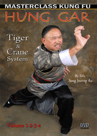 HUNG GAR - Kung Fu – VOL. 1-2-3-4 SET By Sifu Seng Jeorng Au