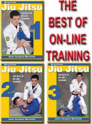 BJJ THE BEST OF ON-LINE TRAINING VOL. 1-2-3 DVD Set