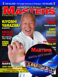 2008 WINTER ISSUE MASTERS MAGAZINE & FRAMES VIDEO