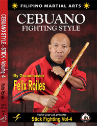 FILIPINO SEBUANO STICK FIGHTING STYLE Vol-4