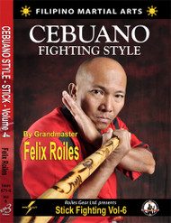 FILIPINO SEBUANO STICK FIGHTING STYLE Vol-6