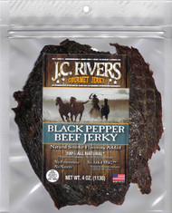 BLACK PEPPER BEEF JERKY - 100% All Natural