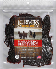 HABANERO BEEF JERKY - 100% All Natural