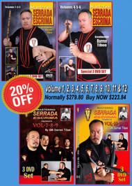SERRADA Escrima 12 Volume SPECIAL 20% Discount