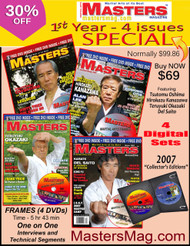MASTERS Magazine - Year 2007. 1st 4 Issues (Digital) SPECIAL 30% OFF