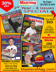 MASTERS Magazine - 2008 - 2nd Year 4 Issues (Digital) SPECIAL 30% OFF
