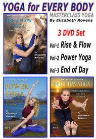 YOGA for EVERY BODY (3 DVD Set) by Elizabeth Rovens