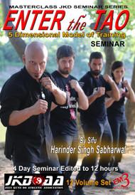 ENTER the TAO 2018 TX Seminar (12 DVD Set)  By Sifu Harinder Singh Sabharwl
