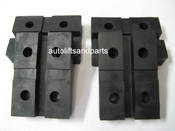 Rubber Lift Arm Pads for Globe Lift Set of 4