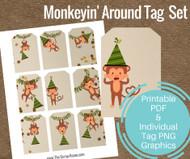 Monkeyin' Around Tag Set