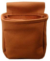 #154 Soft leather double pouch