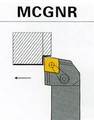 indexable iso Type lathe turning tool holder MCGNR/L MCGNR MCGNL 16mm 20mm 25mm 32mm 40mm shank size for Carbide Insert