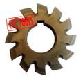 hss m2 involute gear cutter set metric module CNC