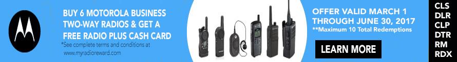 Motorola Promo Buy 6 Radios Get 1 Free
