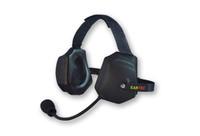 Eartek Double Muff Headset for Hard Hat Use
