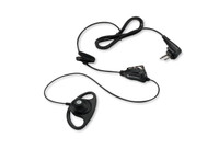 Motorola HKLN4599 D-Ring Earpiece with In-line Clip and PTT Mic